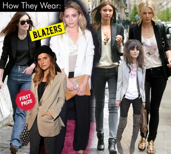 Blazers : How They Wear