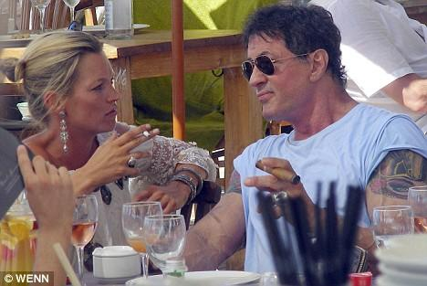 Chatting with Sylvester Stallone, Summer 2008