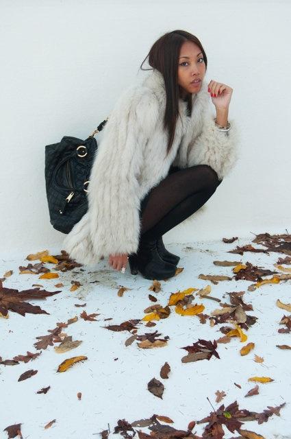 White Fur for Vanessa