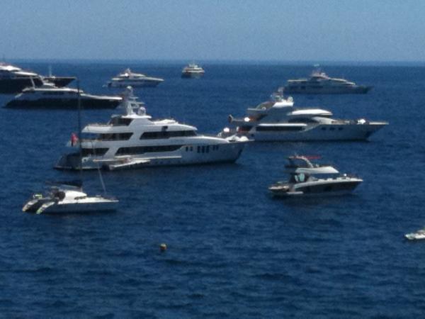 Grand Prix de Monaco 2011 - Vue sur la baie