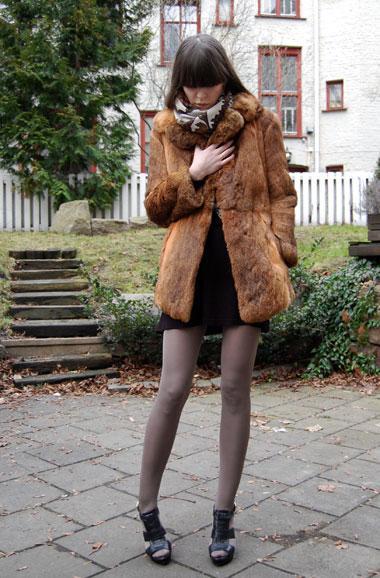 Fur & Zara High Heels