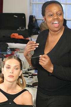 Backstage with Pat McGrath, Make-up artist