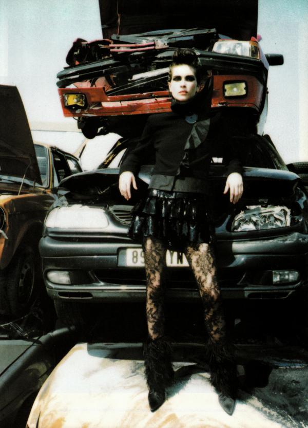 U've got the look, by Karl Lagerfeld, Vogue Octobre 2001