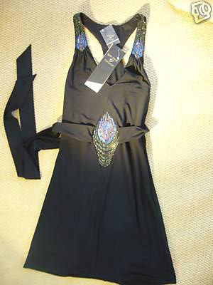 Topshop Peacock Dress