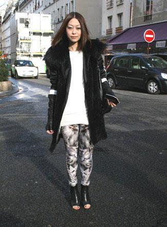 Maïko, Stella McCartney Fashion Show, AH 2009-2010