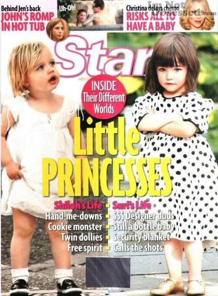 Little princesses : Suri Cruise vs Shiloh Jolie-Pitt