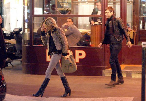 Brasserie Lipp, Paris with Jamie (March 2008)