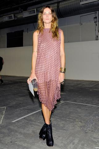 Spring 2011 Ready-to-Wear Alexander Wang Front Row