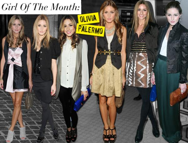 Girl of the month = Olivia Palermo