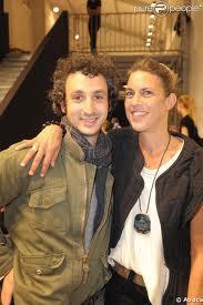 With Husband Jérôme Dreyfuss