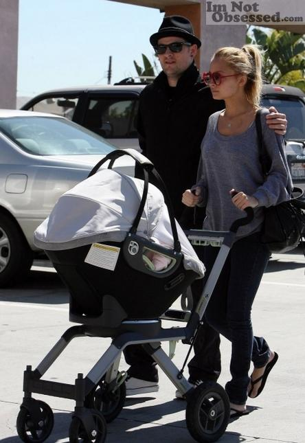 Out with Harlow and Joel Madden