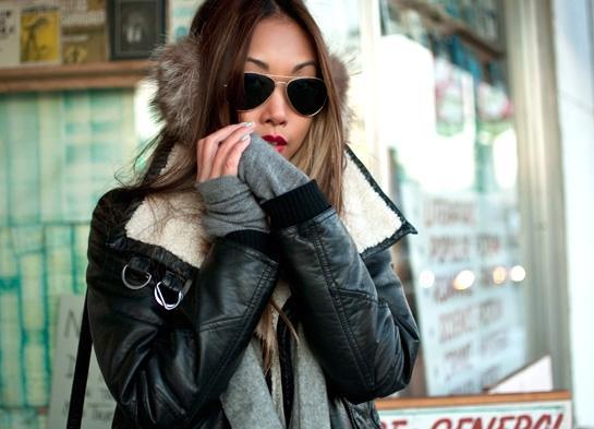 The Haute Pursuit Vanessa : Shearling Jacket