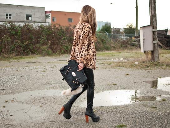 The Haute Pursuit Vanessa : Leopard Coat