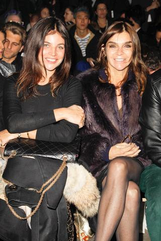 Front Row - Roitfeld Family
