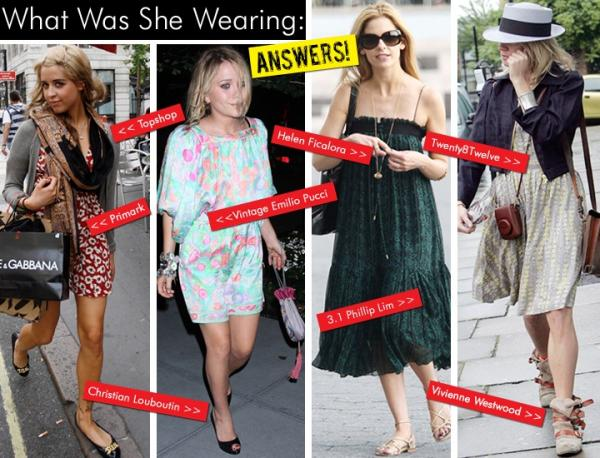 What Was She Wearing : July 08