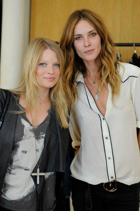 With Mélanie Thierry